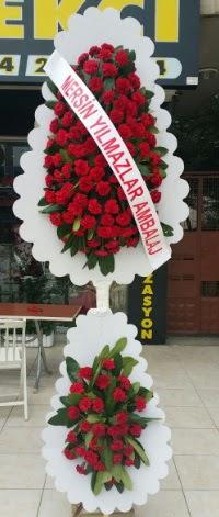 Çift katlı düğün nikah çiçeği modeli  Kahramanmaraş hediye sevgilime hediye çiçek