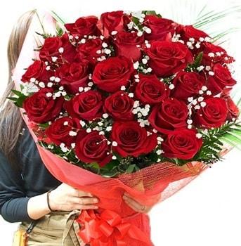 Kız isteme çiçeği buketi 33 adet kırmızı gül  Kahramanmaraş çiçek siparişi vermek