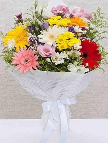 Karışık Mevsim Buketleri  Kahramanmaraş anneler günü çiçek yolla
