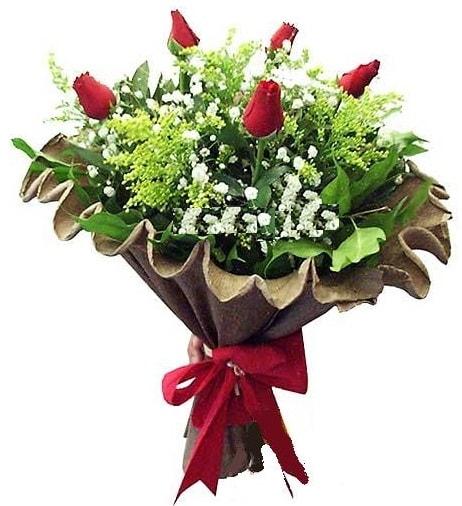 5 adet gülden buket  Kahramanmaraş çiçek siparişi vermek