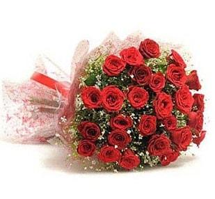 27 Adet kırmızı gül buketi  Kahramanmaraş anneler günü çiçek yolla