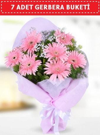Pembe Gerbera Buketi  Kahramanmaraş 14 şubat sevgililer günü çiçek