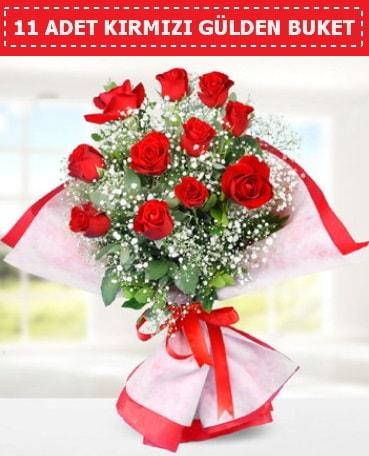 11 Adet Kırmızı Gül Buketi  Kahramanmaraş güvenli kaliteli hızlı çiçek